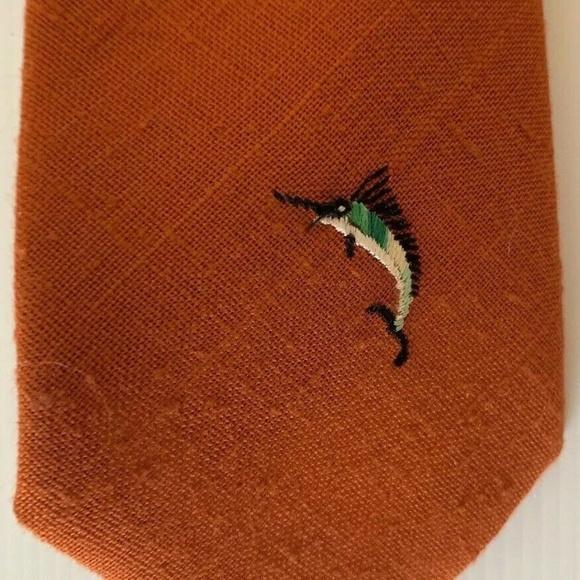 Vintage Other - Andhurst Custom Collection Marlin Fish Necktie Tie
